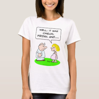 doctor patient pregnant casual friday T-Shirt