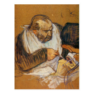 Doctor Pean operates by Toulouse-Lautrec Post Card