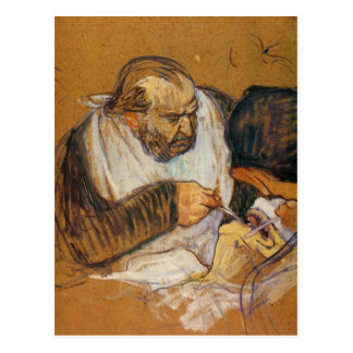 Doctor Pean operates by Toulouse-Lautrec Post Cards