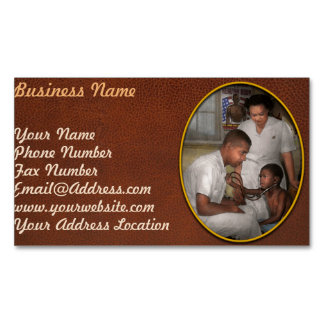 Doctor - Pediatrician - From the heart 1942 Business Card Magnet