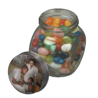 Doctor - Pediatrician - From the heart 1942 Glass Candy Jar