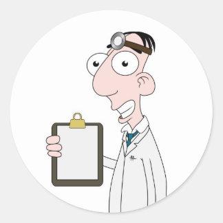 Doctor Pegatina Redonda