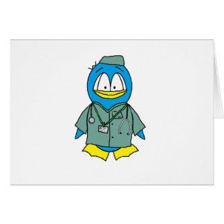 Doctor Penguin Card