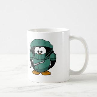 Doctor Penguin Coffee Mug