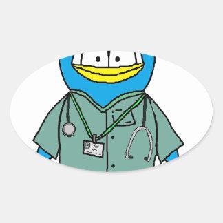Doctor Penguin Stickers