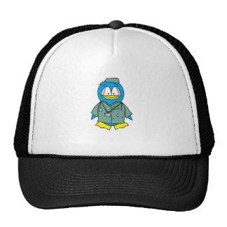 Doctor Penguin Trucker Hat