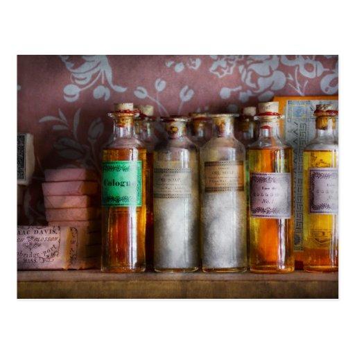 Doctor - perfume - jabón y Colonia Tarjeta Postal