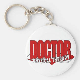 DOCTOR PHYSICAL THERAPY BIG RED KEYCHAIN