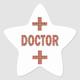 DOCTOR Physician Hospital HealthCare LOWPRICE GIFT Star Sticker