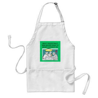 doctor physician surgeon joke adult apron