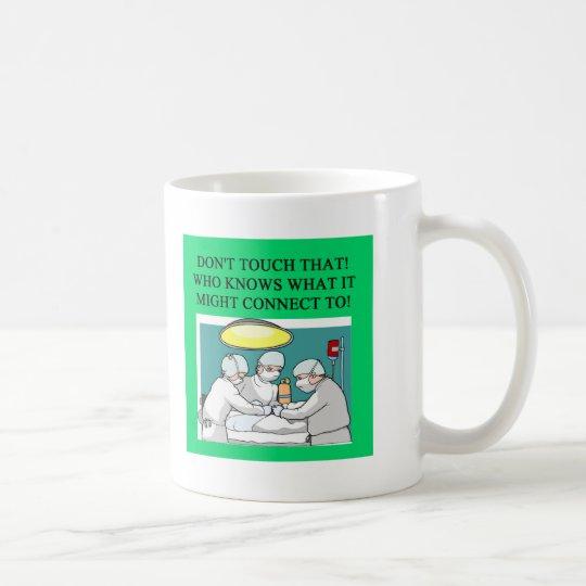 doctor physician surgeon joke coffee mug
