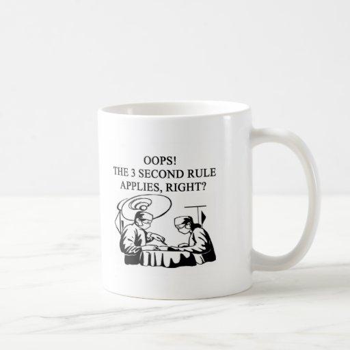 doctor physician surgeon joke mugs