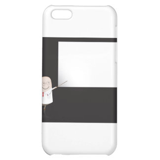Doctor pointing at blank board iPhone 5C cover