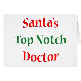 Doctor primera clase tarjeta pequeña