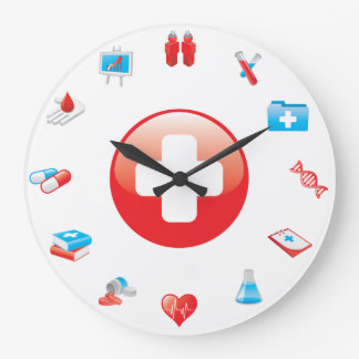Doctor Profession Medical Office Wall Clock