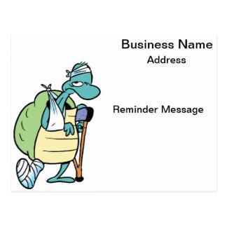 Doctor Reminder Cartoon Card