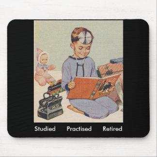 Doctor Retirement - Retro Mouse Pad