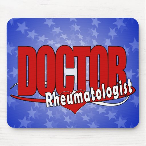 DOCTOR reumatólogo del LOGOTIPO Tapetes De Raton
