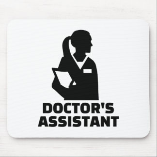 Doctor's assistant mouse pad