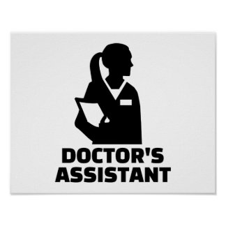 Doctor's assistant poster
