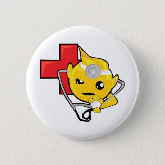 doctor smiley face button