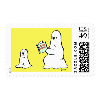 doctor spook postage stamps