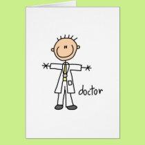 Doctor Stick Figure Card