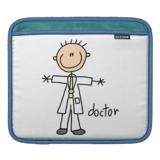 Doctor Stick Figure Sleeves For iPads