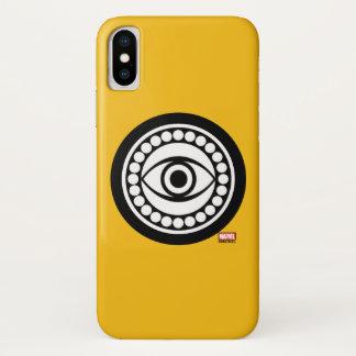 Doctor Strange Retro Icon iPhone X Case