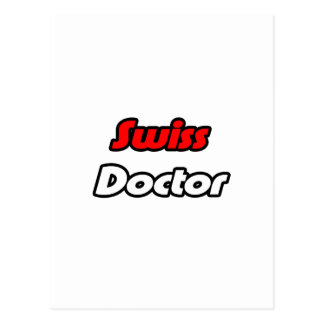 Doctor suizo postales