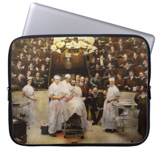 Doctor - Surgeon - Standing room only 1902 Computer Sleeve