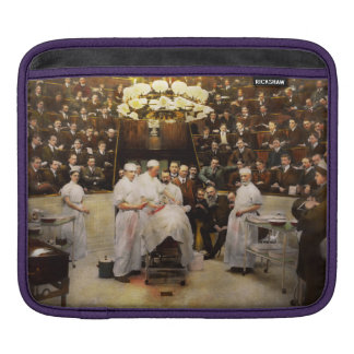 Doctor - Surgeon - Standing room only 1902 iPad Sleeve