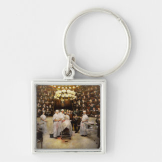 Doctor - Surgeon - Standing room only 1902 Keychain