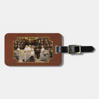 Doctor - Surgeon - Standing room only 1902 Luggage Tag