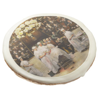 Doctor - Surgeon - Standing room only 1902 Sugar Cookie