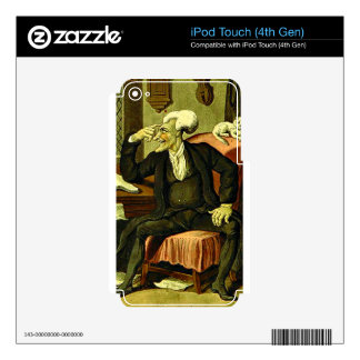 Doctor Syntax iPod Touch 4G Decals