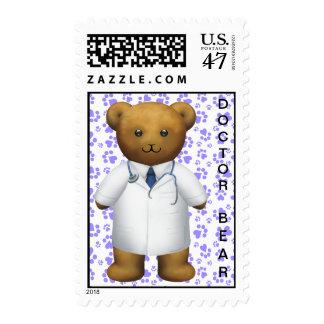 Doctor Teddy Bear Postage