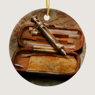 Doctor - The Hypodermic Syringe Ceramic Ornament