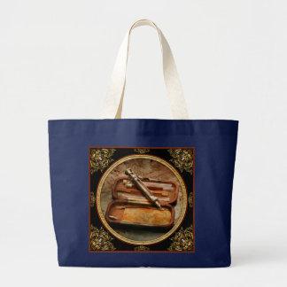 Doctor - The Hypodermic Syringe Large Tote Bag