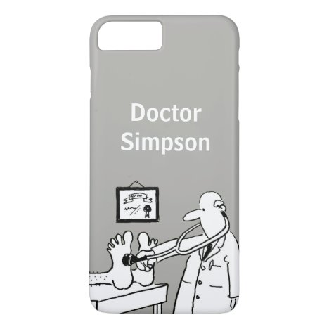 Doctor Theme Cartoon iPhone 8 Plus/7 Plus Case