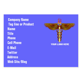 Doctor theme for party or events See Notes Large Business Cards (Pack Of 100)