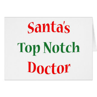 Doctor Top Notch Card