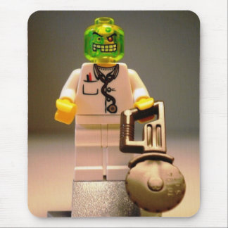Doctor Toxic Custom Minifig by CustomizeMyMinifig Mouse Pad