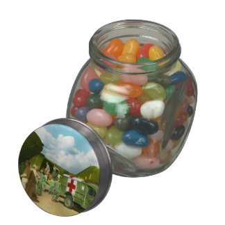 Doctor  - Transferring the wounded Jelly Belly Candy Jar
