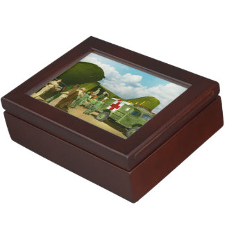 Doctor  - Transferring the wounded Keepsake Boxes