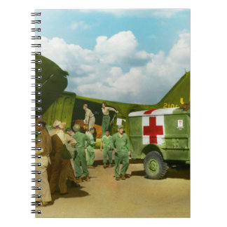 Doctor  - Transferring the wounded Note Books