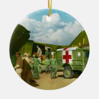 Doctor  - Transferring the wounded Ornament