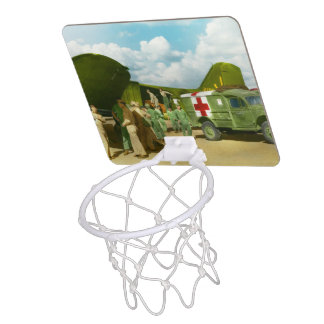 Doctor  - Transferring the wounded Mini Basketball Hoop