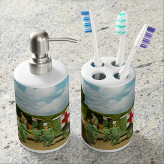Doctor  - Transferring the wounded Soap Dispenser
