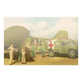 Doctor  - Transferring the wounded Stationery Design